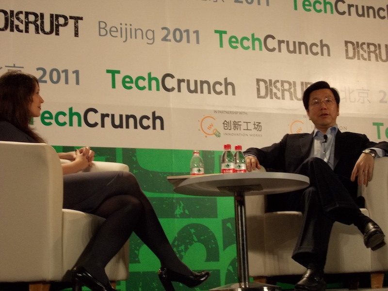 Lee Kaifu @ TechCrunch Disrupt Beijing