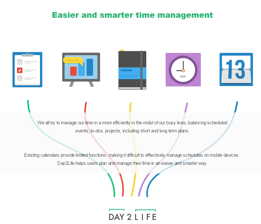 Day2Life's fully functional mobile time management solution receives investment from 500 Startups