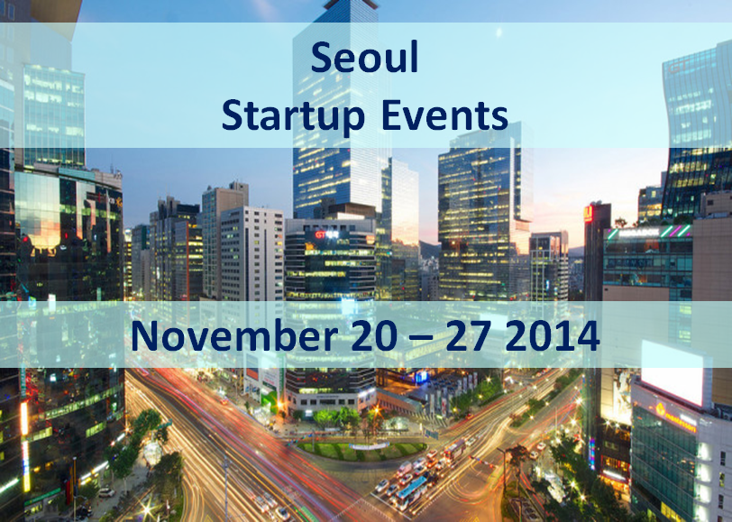 Seoul Startup Events 1