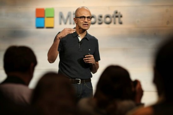 satya nadella 마이크로 cheif executive