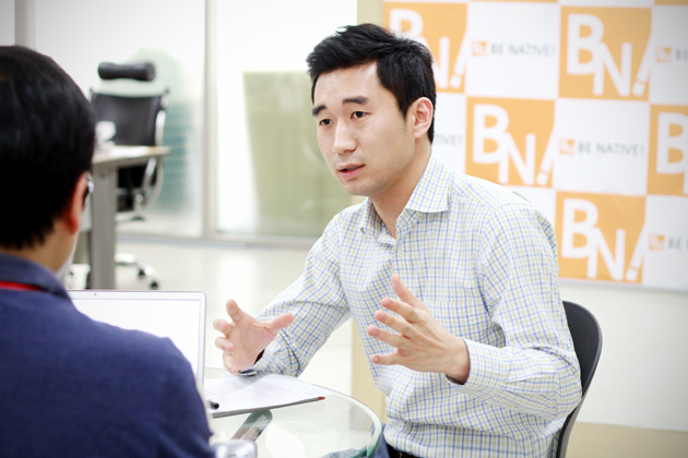 Chinada's CEO, Sunwoo Kim, talks about their language learning service, Chinatan